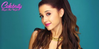 Ariana Grande Height and Weight Measurements