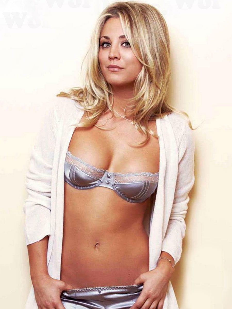 Kaley theory hot bang big cuoco