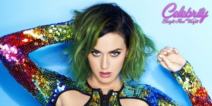 Katy Perry height and weight