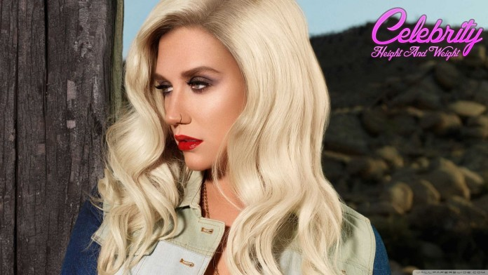Kesha height and weight