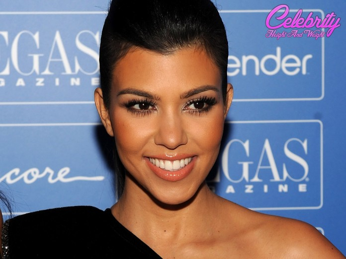 Kourtney Kardashian height and weight