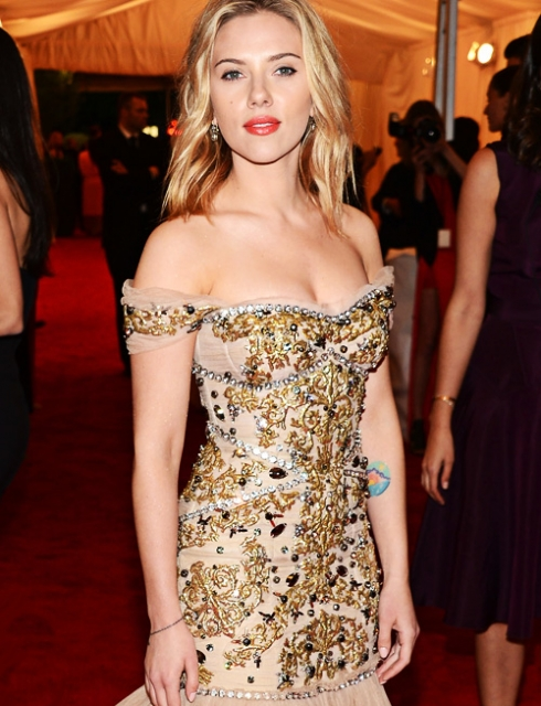 Scarlett Johansson Height and Weight Measurements