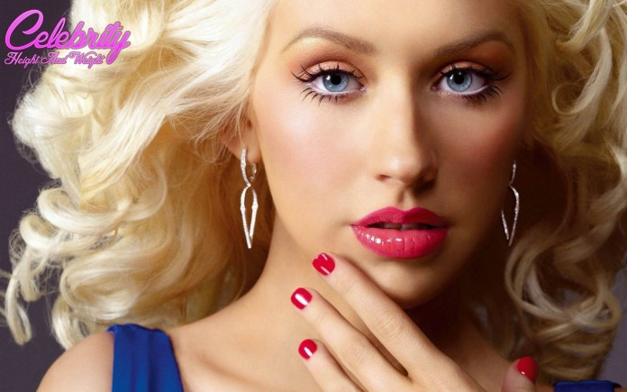 christina aguilera Christina Aguilera Height and Weight Measurements