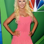 christina aguilera body measurements