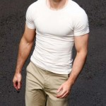 Chris Evans Muscular Body