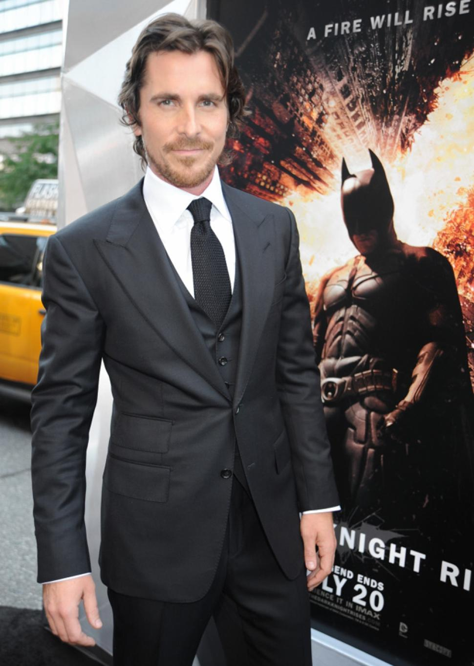 christian bale measurements height  weight