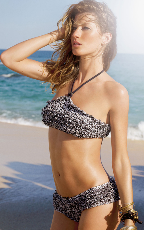 Gisele Bündchen Measurements Height and Weight