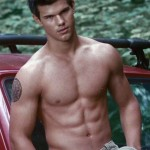 Taylor Lautner Muscular Body