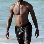 LeBron James Shirtless