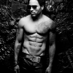 Lenny Kravitz Muscular Body