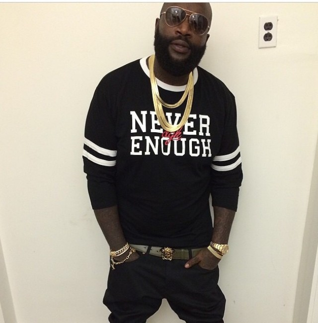 rick ross height  weight and body measurements