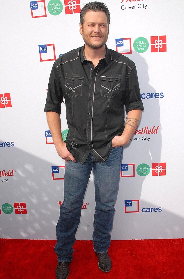 Blake Shelton Height, Stats and Body Measurements