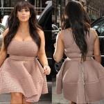 kim Kardashian body shape