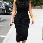 Kim Kardashian post pregnancy