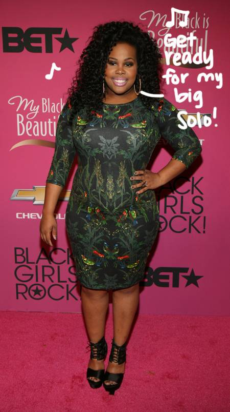 Amber Riley Measurements Height And Weight