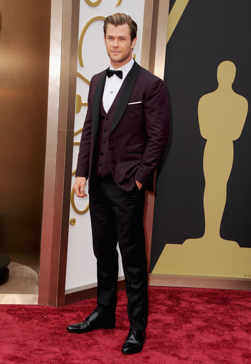 Chris Hemsworth Measur...