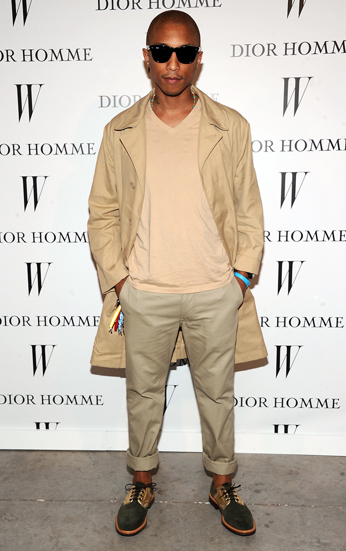 Pharell Williams Measurements Height And Weight
