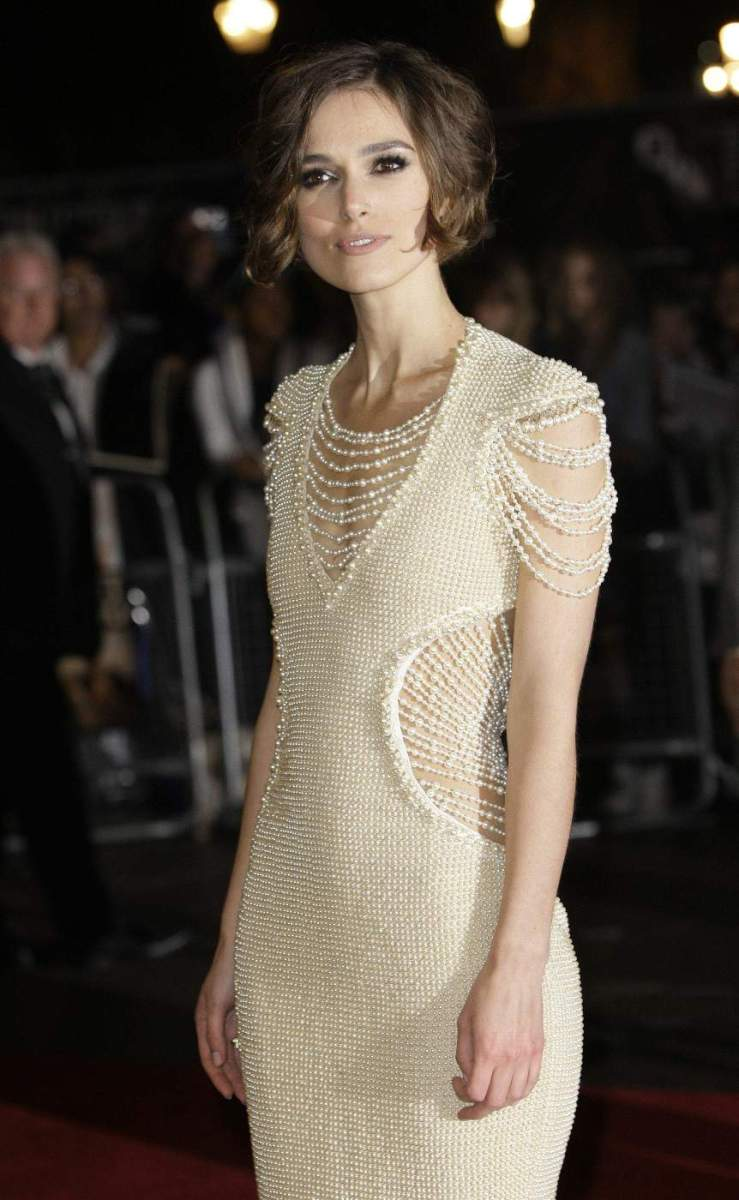 Keira Knightley Measurements Height and Weight