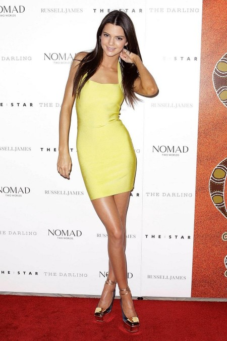 Kendall Jenner Dress Height And Weights-3172