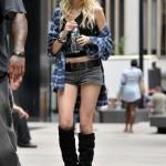 Taylor Momsen Street Style