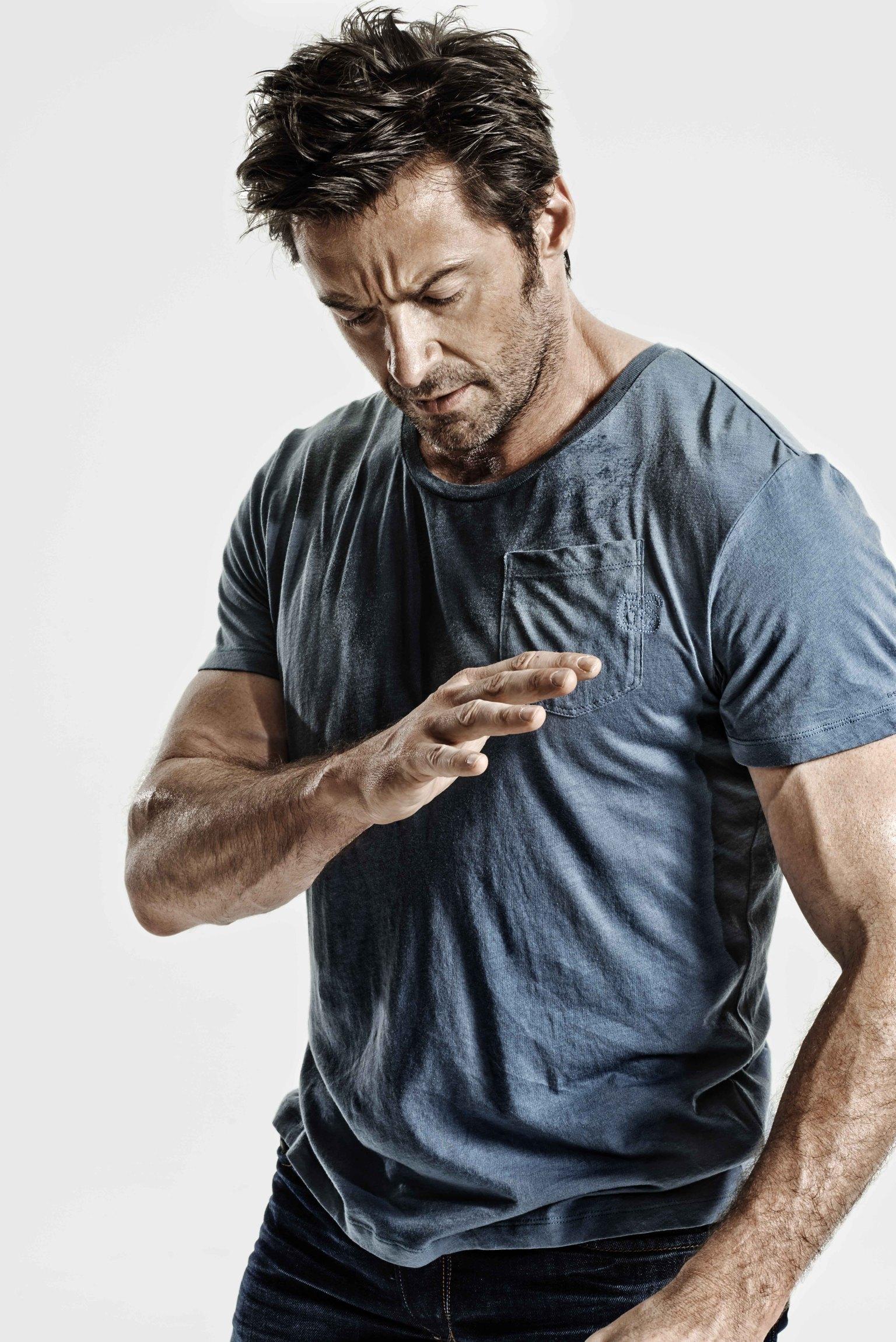 Fitness Tumblr Men Hugh Jackman Measureme...