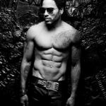 Lenny Kravitz Muscular Body
