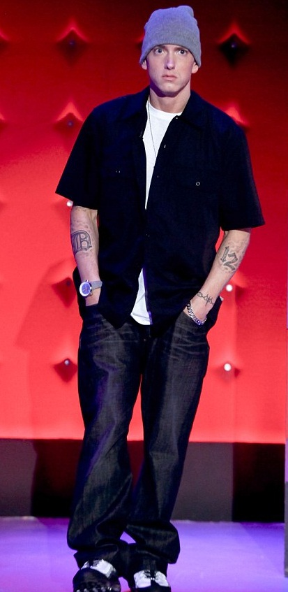 Eminem Height  Stats And Body Measurements