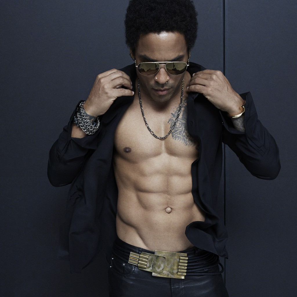 lenny kravitz abs height and weights